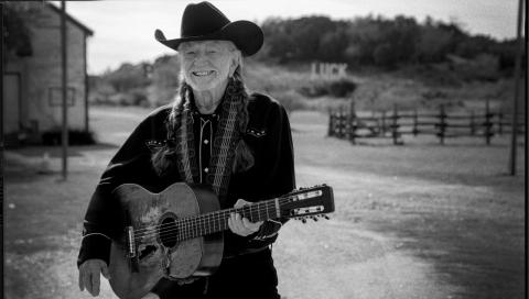Willie Nelson (Photo by Pamela Springsteen courtesy of Legacy Records)