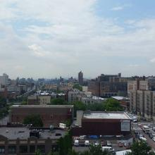View of the Bronx from above Fordham Road