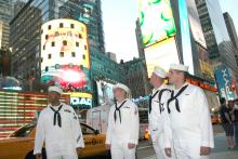 Sailors in Times Square