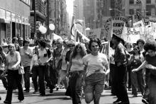 The second annual Christopher Street Gay Liberation Day parade