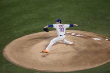 Mets Pitcher Matt Harvey