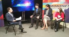 panel discussion at Bronxnet