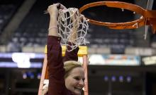 Fordham Women's Basketball Head Coach Stephanie Gaitley