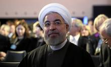 Hundreds Protest Rouhani Outside UN in New York