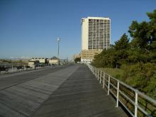 One of the Final Sandy Damaged Boardwalks Open