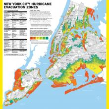 New NYC Evacuation Zones Include Almost Three Million People