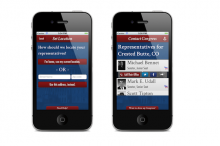 A New Smartphone App Makes it Easier to Get Your Congressman's Attention