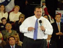 Gov. Christie Starts New Round of Public Forums