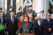 NYC Council Speaker Christine Quinn Commemorates Titanic Centennial