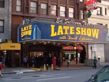 "New York City Mayor Bill de Blasio Urges CBS to Keep ""The Late Show"" in the Big Apple"