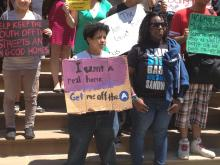 NYC's Homeless and Runaway Youth Rally Against Proposed Budget Cuts