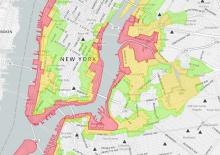 Hurricane Sandy Evacuation and Shelter Map