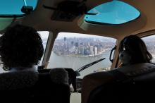 Lawmakers Hunt Hudson Helicopters
