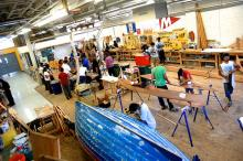 Building boats to build self-esteem