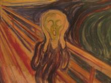 "Iconic Painting ""The Scream"" Will Go On Display at the Museum of Modern Art"