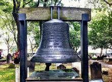 St. Paul's Chapel rang their Bell of Hope in solidarity with the victims and family members of the recent shooting in Aurora, Colorado.