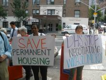 Upper West Side Community Upset with Department of Homeless Services