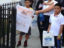 'Bring Your Child to Vote' Campaign Launches