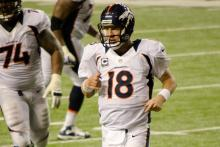 Peyton Manning Bonds with Brother Eli Before the Super Bowl