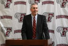 Fordham Focus With Coach Joe Moorhead on Patriot League Move to Scholarships