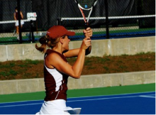 Women's Tennis Senior Profile: Hanna Fritzinger
