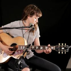 Holly Miranda at WFUV