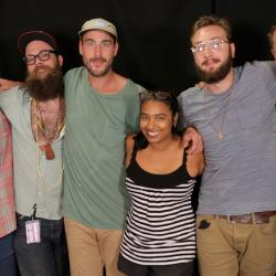 Rayland Baxter and band with Alisa Ali at WFUV