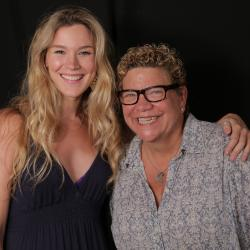 Joss Stone and Rita Houston at WFUV