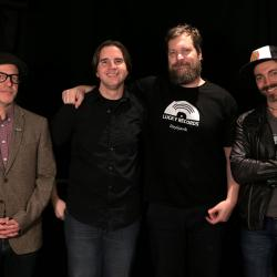 John Grant & band with Russ Borris at WFUV