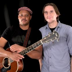 Son Little and Russ Borris at WFUV