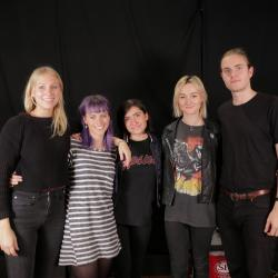 Little May in Studio A at WFUV