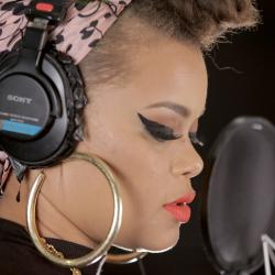 Andra Day in Studio A at WFUV