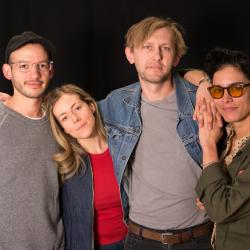 Van William and band at WFUV
