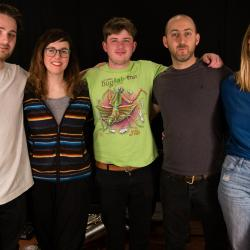 Anna Meredith and band at WFUV