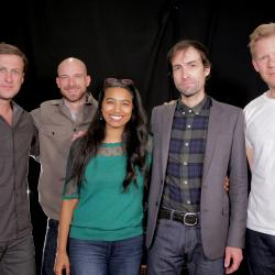 Andrew Bird and band with Alisa Ali at WFUV