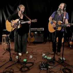Shawn Colvin and Steve Earle at WFUV
