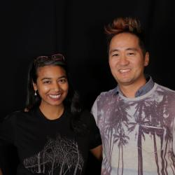 Kishi Bashi and Alisa Ali at WFUV