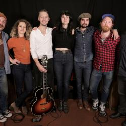 Nikki Lane and band at WFUV