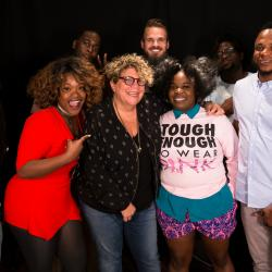 Tank and The Bangas with Rita Houston at WFUV