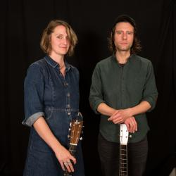 Joan Shelley and Nathan Salsburg at WFUV