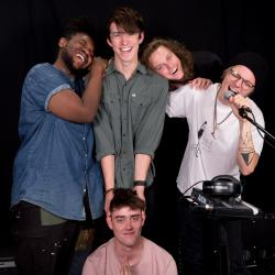 Hippo Campus at WFUV