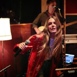 Maggie Rogers in a WFUV Concert at Electric Lady Studios