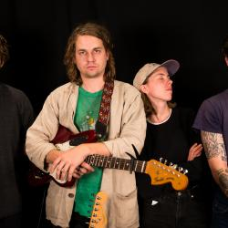 Kevin Morby and band at WFUV