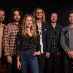 Margo Price and band at WFUV