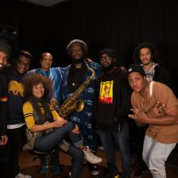Kamasi Washington Crew at WFUV