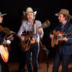 David Rawlings and band at WFUV