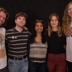Middle Kids with Alisa Ali at WFUV