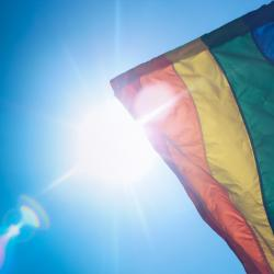 Advocates say the flag is an important symbol for LGBT youth