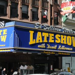 Letterman Marquee