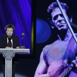 Lou Reed Rock and Roll Hall Of Fame
